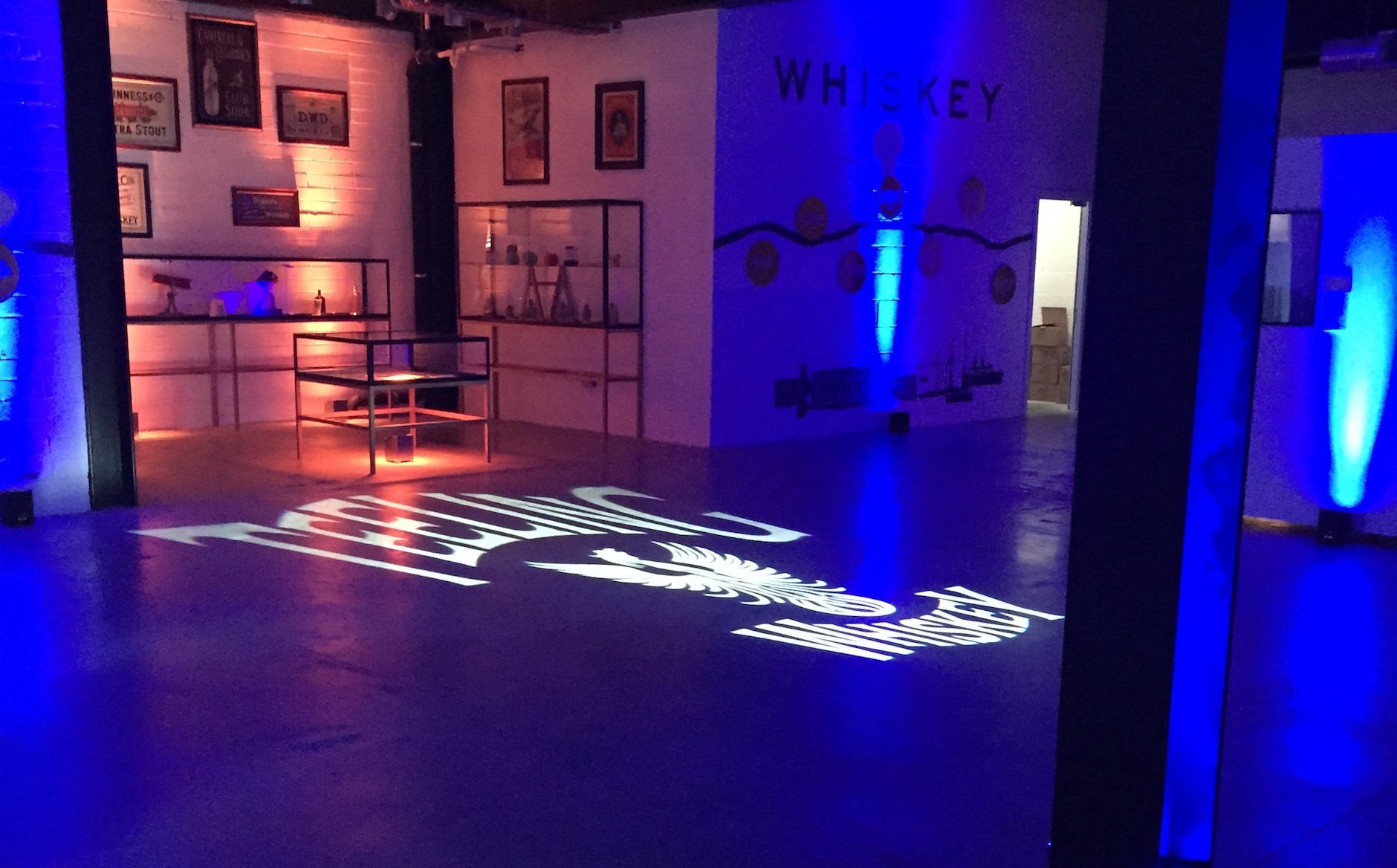 Entrance with Personalised Lighting